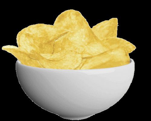 16.photato chips